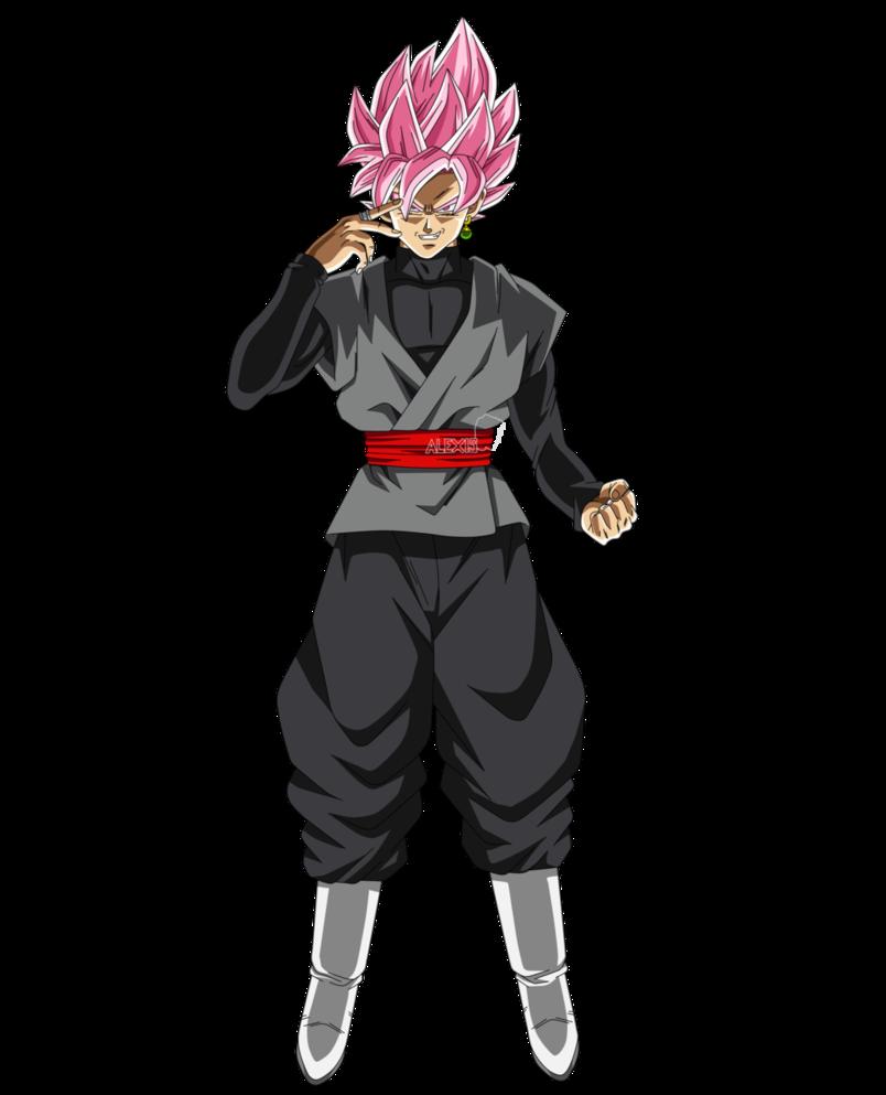 Black Goku Super Saiyan Rose By Alexiscabo1 Goku Black Super Saiyan Rose Dragon Ball Art