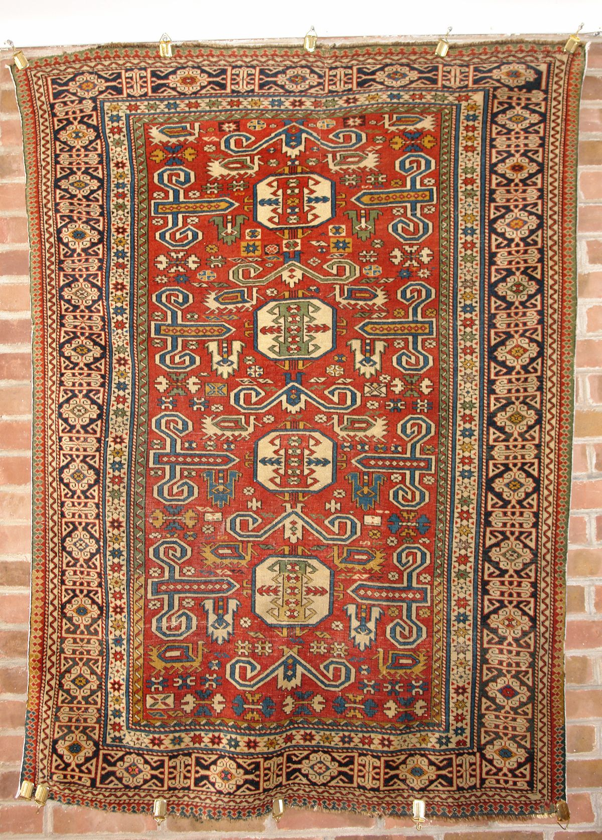 Perepedil Rug Circa 1875 1900 Sold At Sotheby S Extremely Finely Woven Perepedil Rugs From The Shirvan Area Of The South Caucasus Are More Frequent Textil