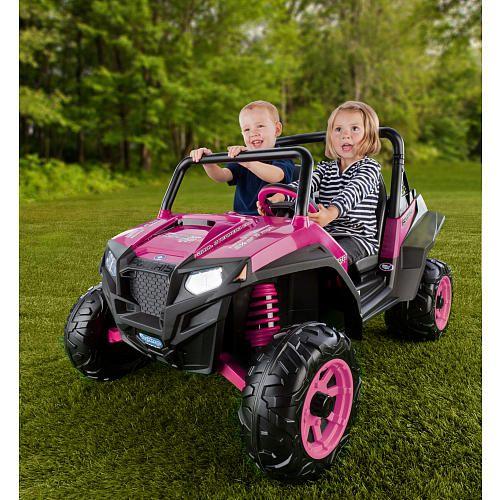 Peg Perego Polaris RZR 900 12 Volt Ride On - Pink | Peg ...