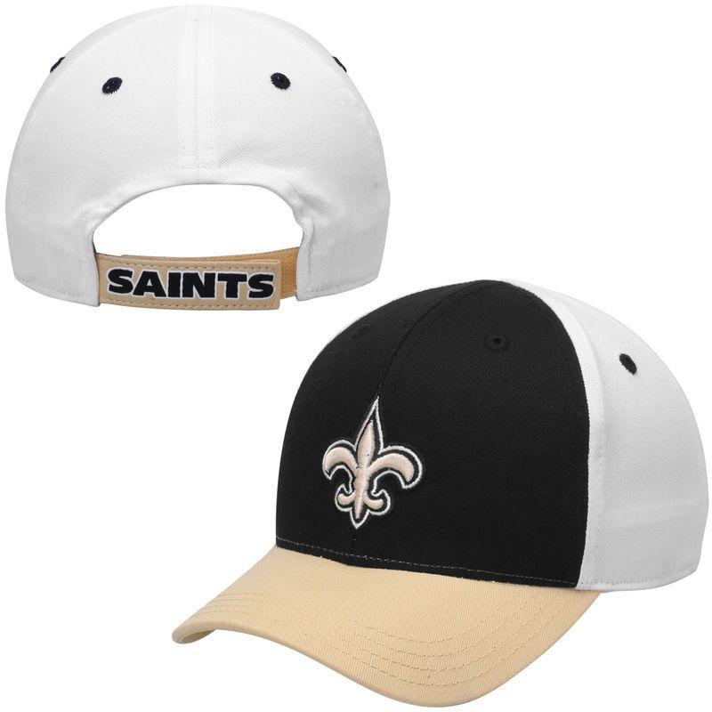 0a4d1c18 New Orleans Saints Toddler Color Block Adjustable Hat - Black/White ...