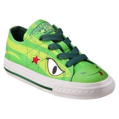 bba12b3d34ef Target   Toddler s Converse® One Star® Lizard Oxford - Green ...