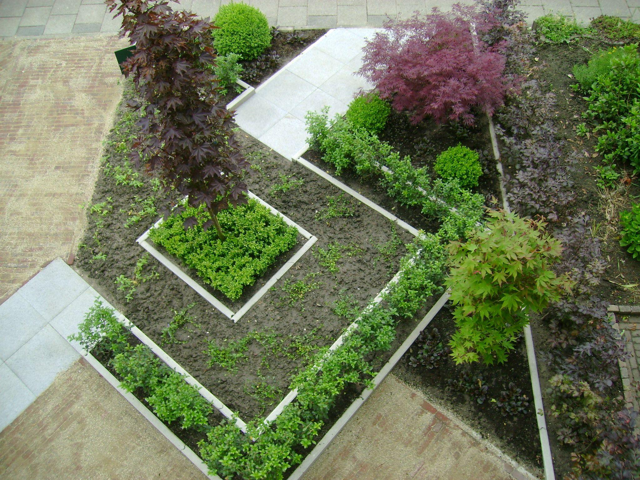 Voortuin ontwerp tuin idee n pinterest voortuinen voortuin ontwerp en tuin - Moderne tuin ingang ...