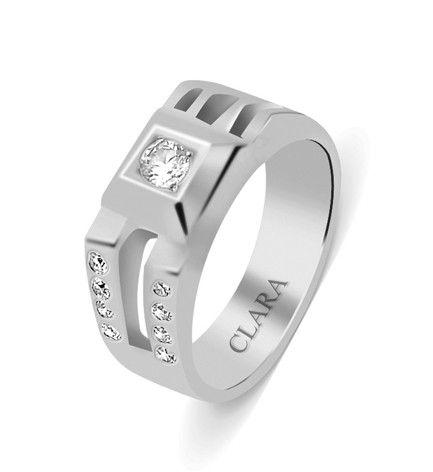 145ead597d99 Aaron Sterling Silver  Swarovski  Ring  silver jewellery