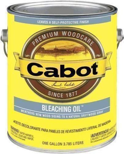 Cabot 05 6241 Voc Compliant Bleaching Oil 5 Gallon Clear Staining Deck Solid Stain