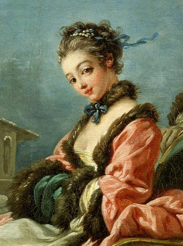 Artistic accessories clothes jewelry hats in art for Boucher peintre