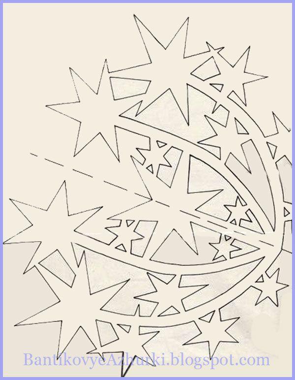 Украшение к новому году своими руками схемы шаблоны