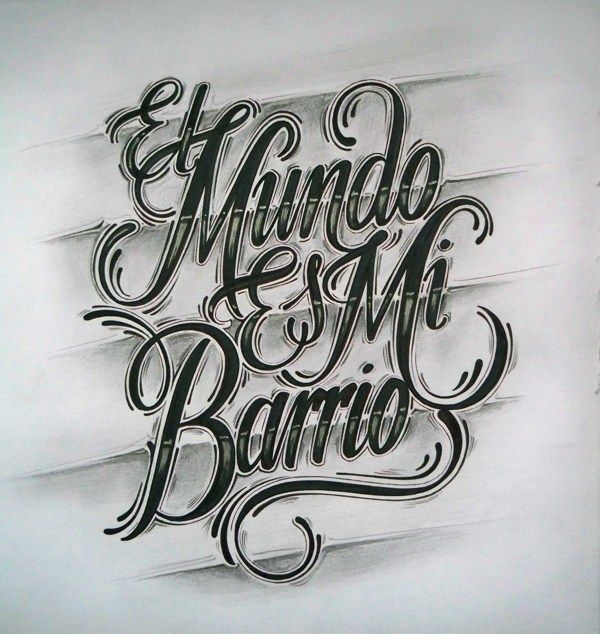 An Inspiring Collection Of Hand Drawn Typography Graffiti Lettering Graffiti Lettering Fonts Tattoo Lettering
