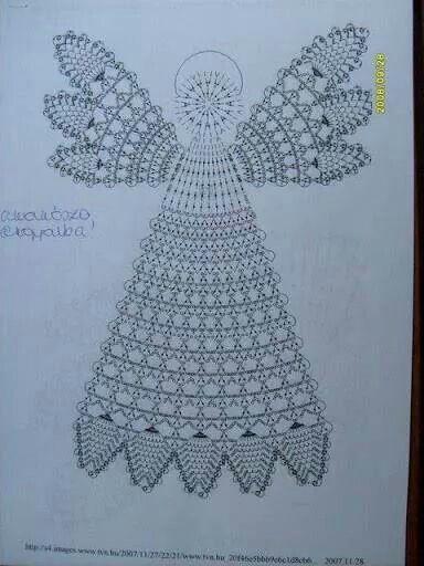 Angioletto AMIGURUMI con ali luccicose - Crochet an Angel (English ... | 512x384