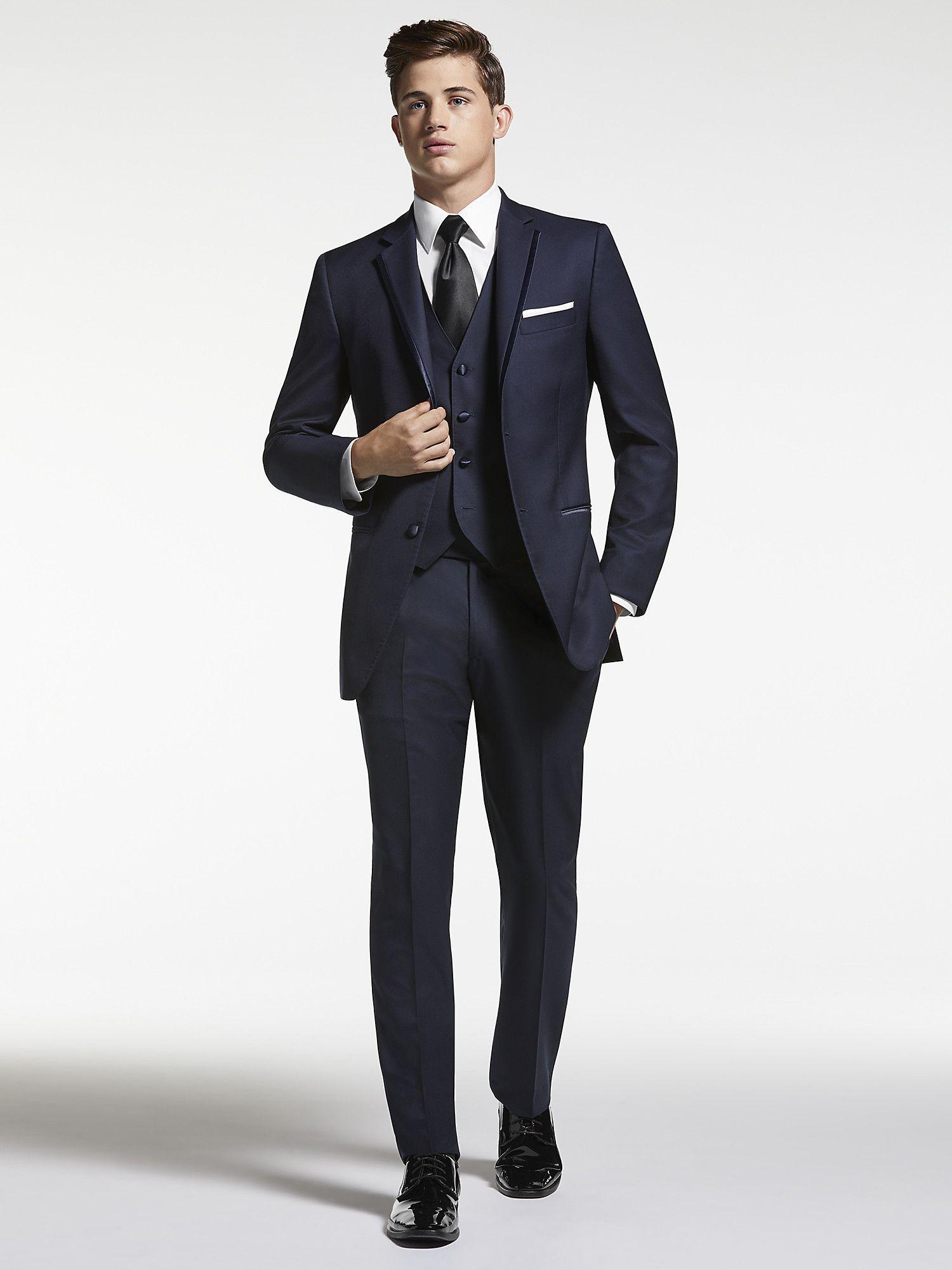 Navy Blue Tuxedo by Joseph Abboud | Tuxedo Rental | Men\'s Wearhouse ...