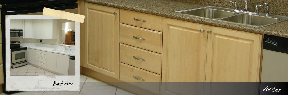 Reface Our Kitchen Cabinets