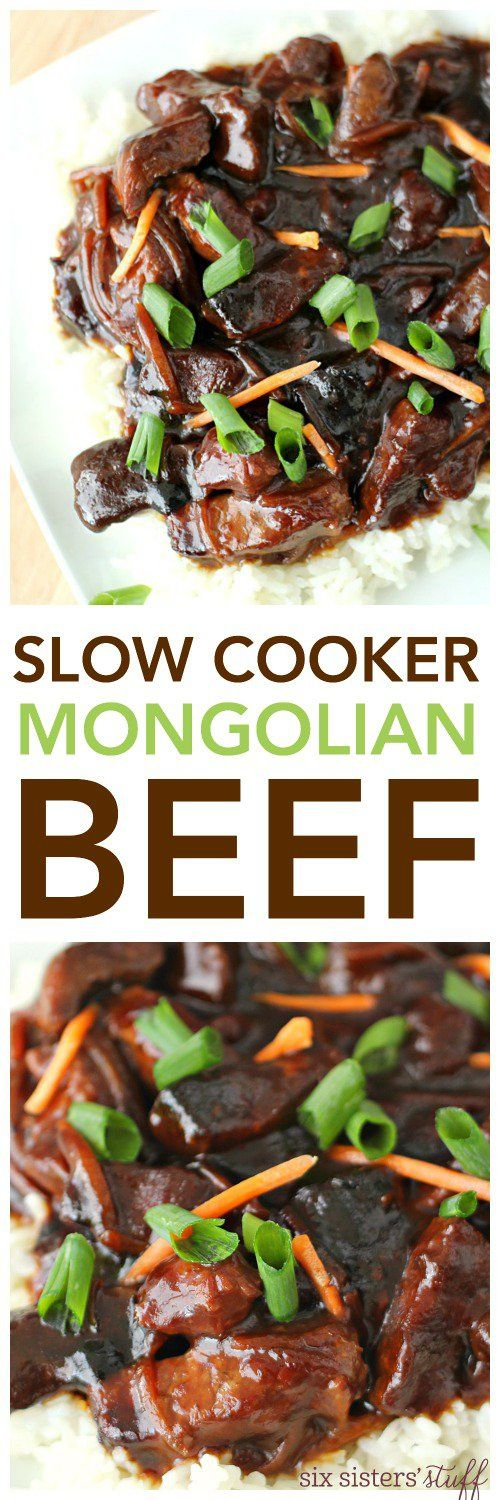 Slow Cooker Mongolian Beef   Recipe   Recipes please   Pinterest   Mongolian beef, Cooker and ...