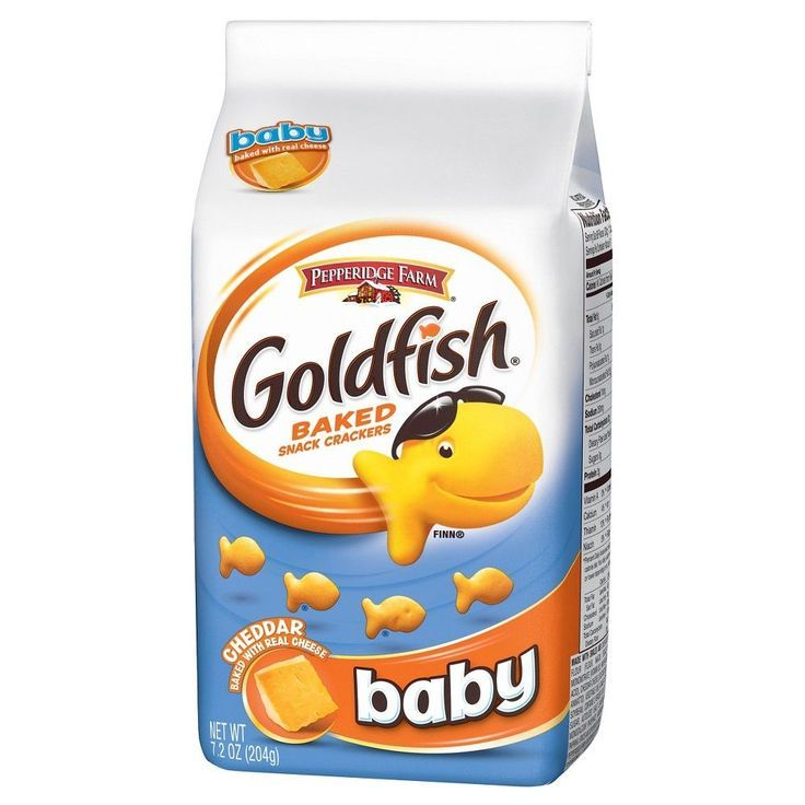 Pepperidge Farm Goldfish Baby Cheddar Baked Snack Crackers - 7.2 oz   - Products -