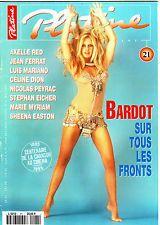 BRIGITTE BARDOT - PLATINE MAGAZINE N°21 1995