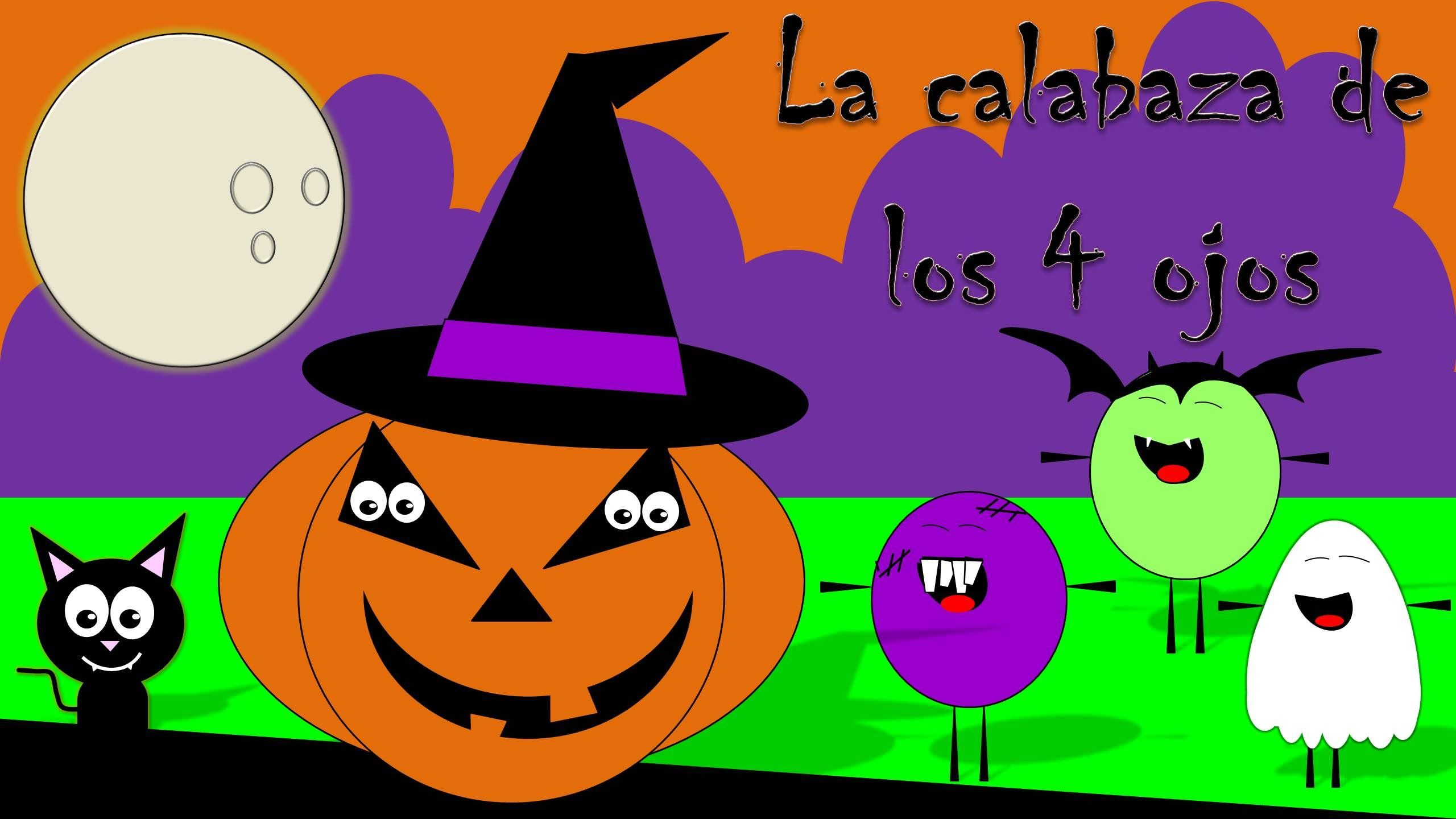 Cuento de Halloween para niños: La calabaza de 4 ojos - Halloween ...