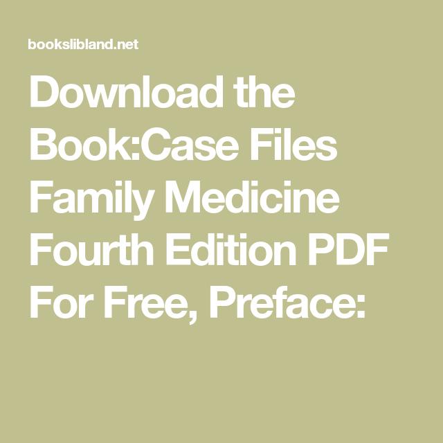 Files pdf medicine case family