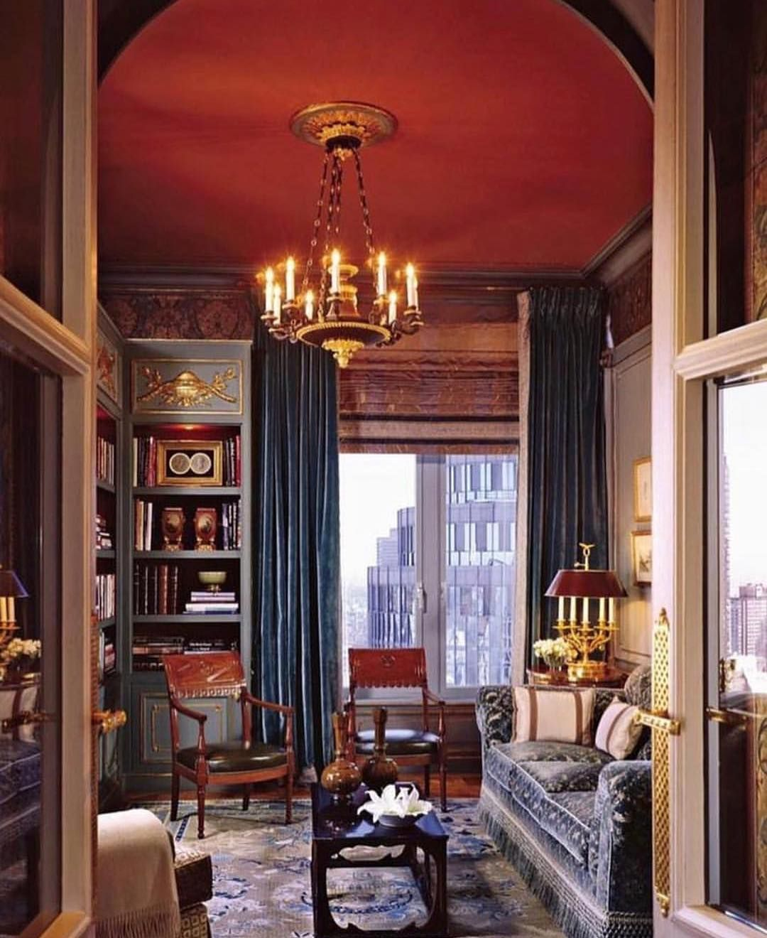 The Perfect Room In Which To Reread The Age Of Innocence Home Interior Design Modern Interior Design