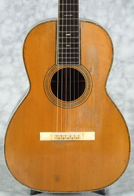 Vintage 1920 Martin 00-45 acoustic parlor guitar with