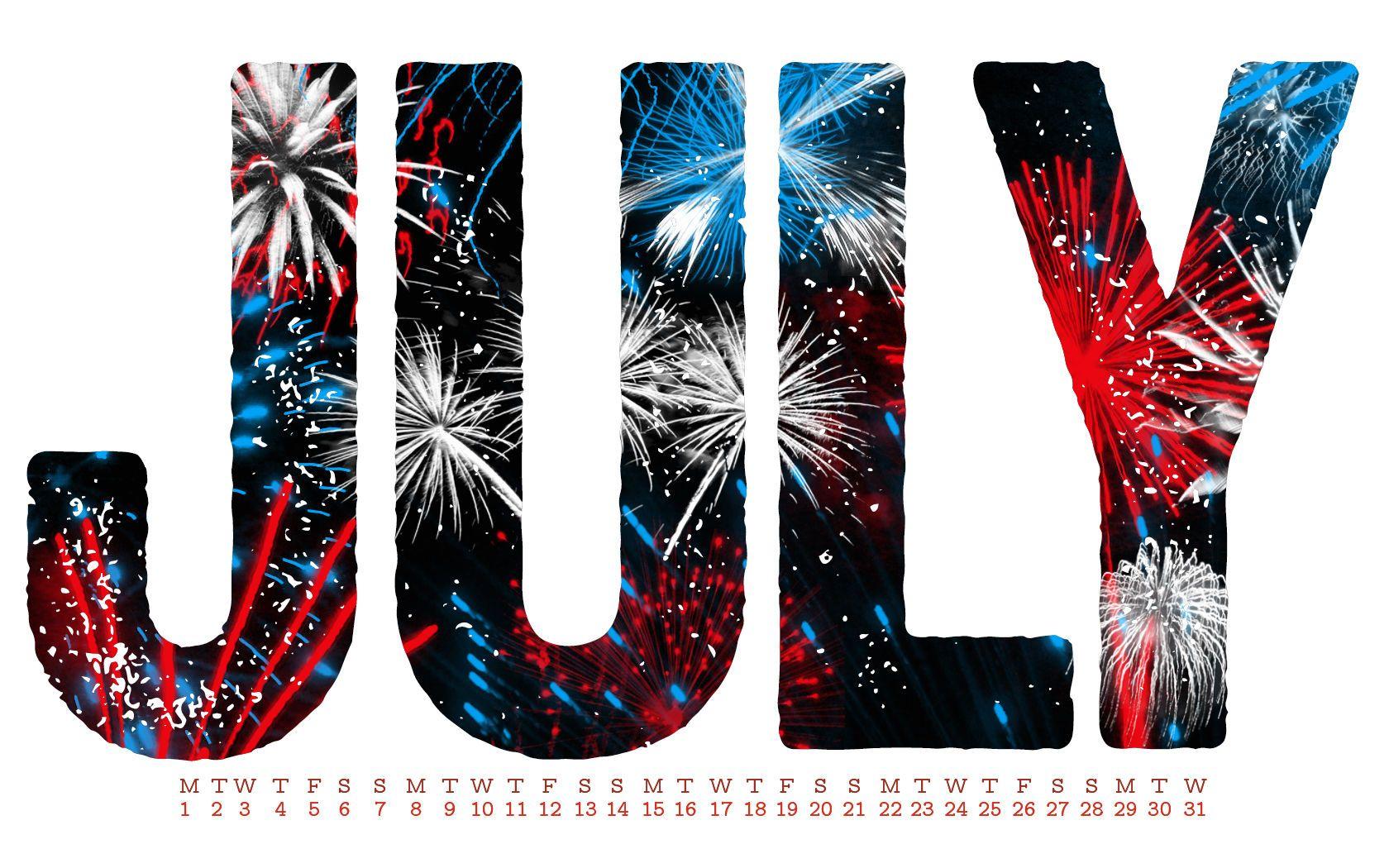 Картинки июль с надписью, днем рождения юлю