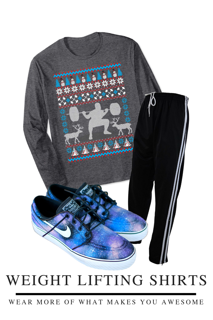 This ugly sweater style shirt is the perfect t for your favorite