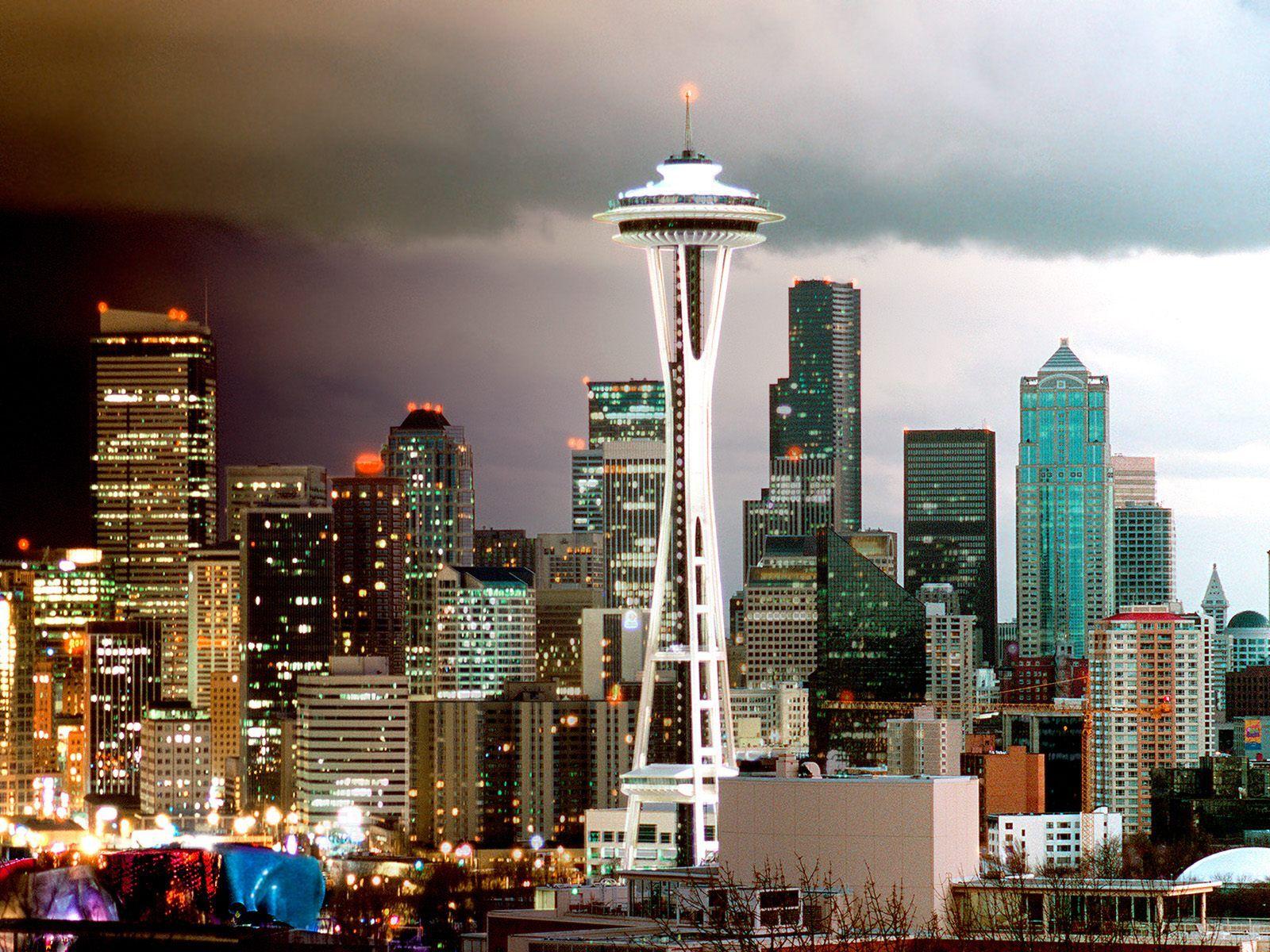 Seattle Wa Seattle Skyline Seattle Wallpaper Seattle