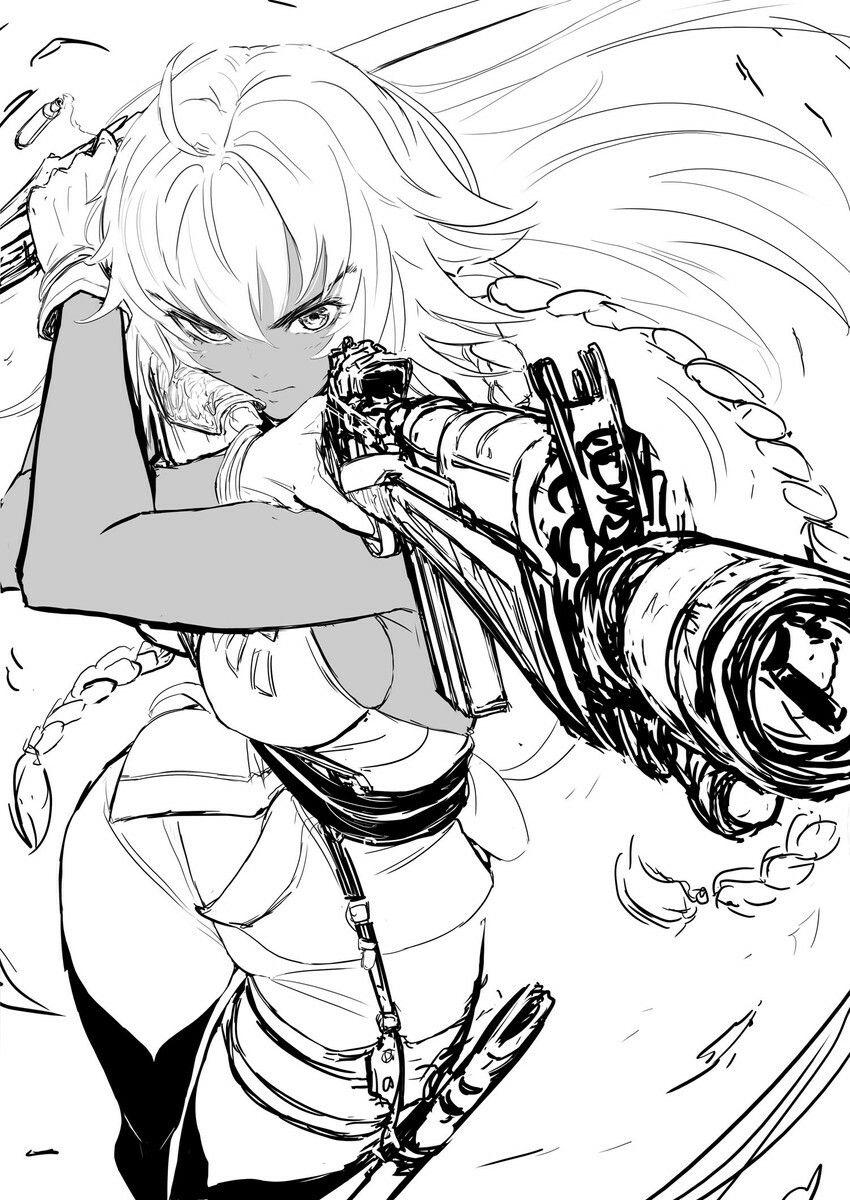 Fate_Series FateGrandOrder Fgo animegirl Manga