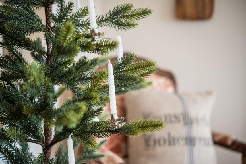 Christmas tree little scandinavian christmas tree