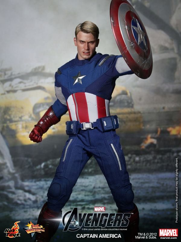 Captain America (he is really awesome!)