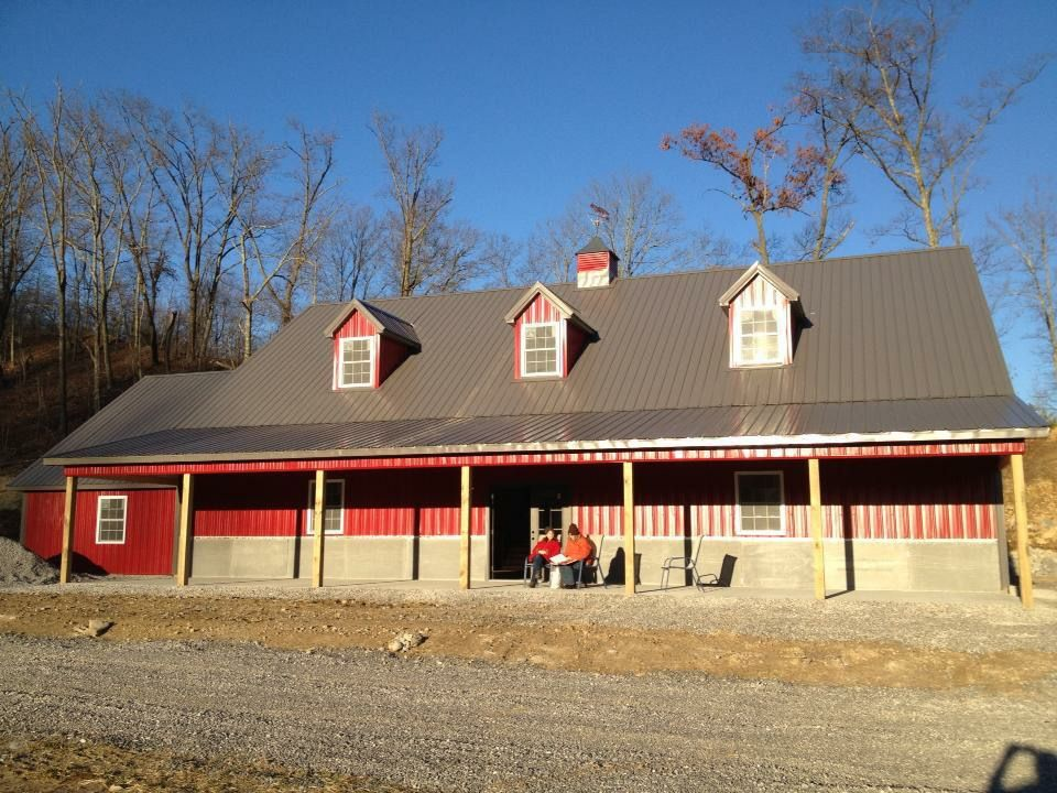 Mid Western Buildings manufacturing complete pole barn ...