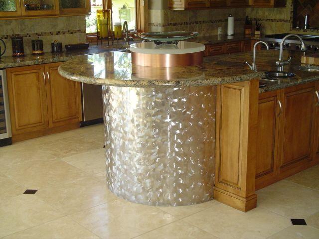 Stainless Steel And Copper Breakfast Bar Hempel Sheet Metal Works