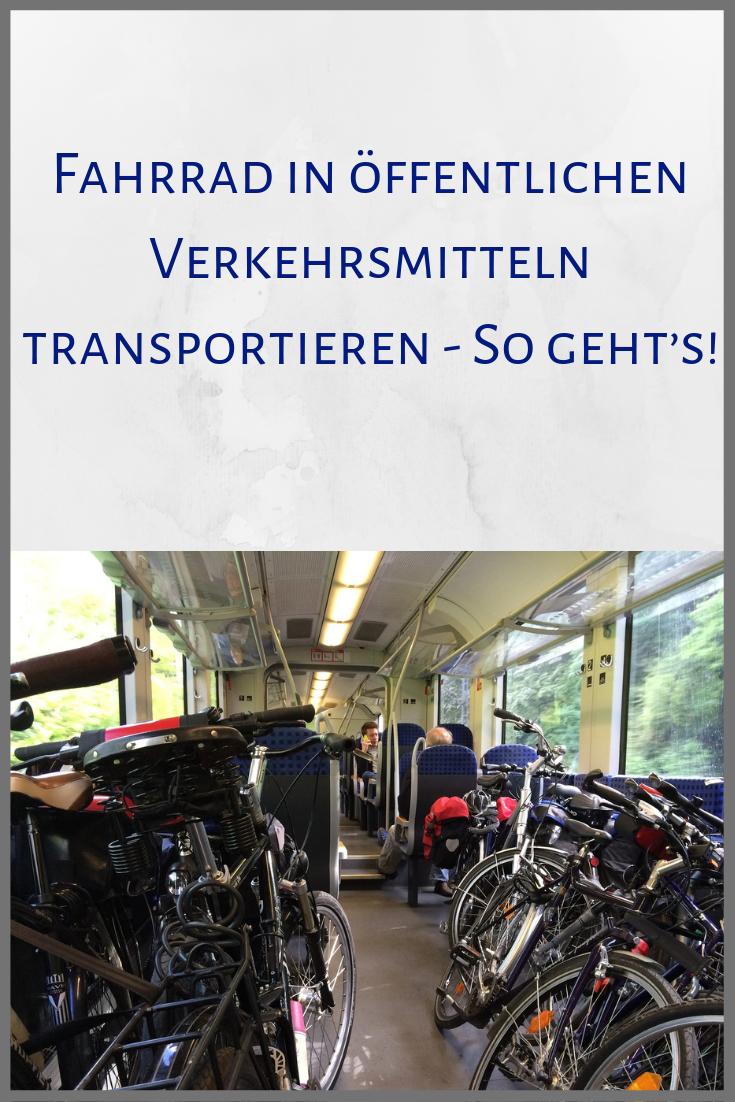 Die nächste Reise steht an und das Fahrrad soll mit Du