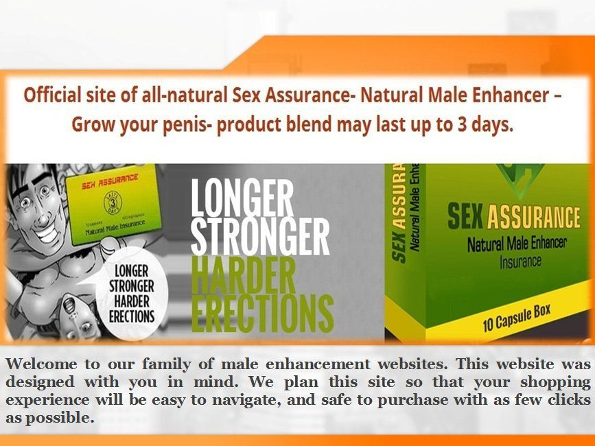 Safe male sex stamina