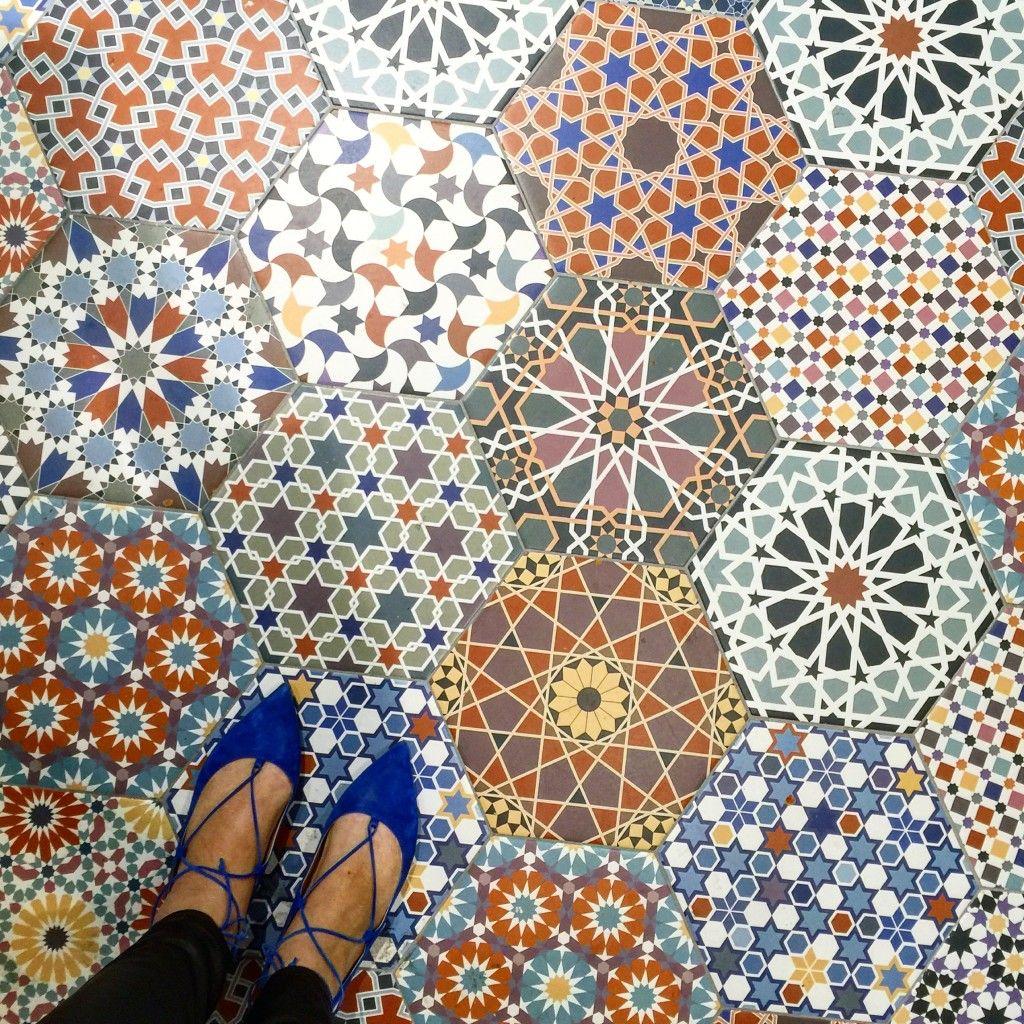 Spanish Tile For Miles At Cevisama Part 2 Terrific Tile Hexagon