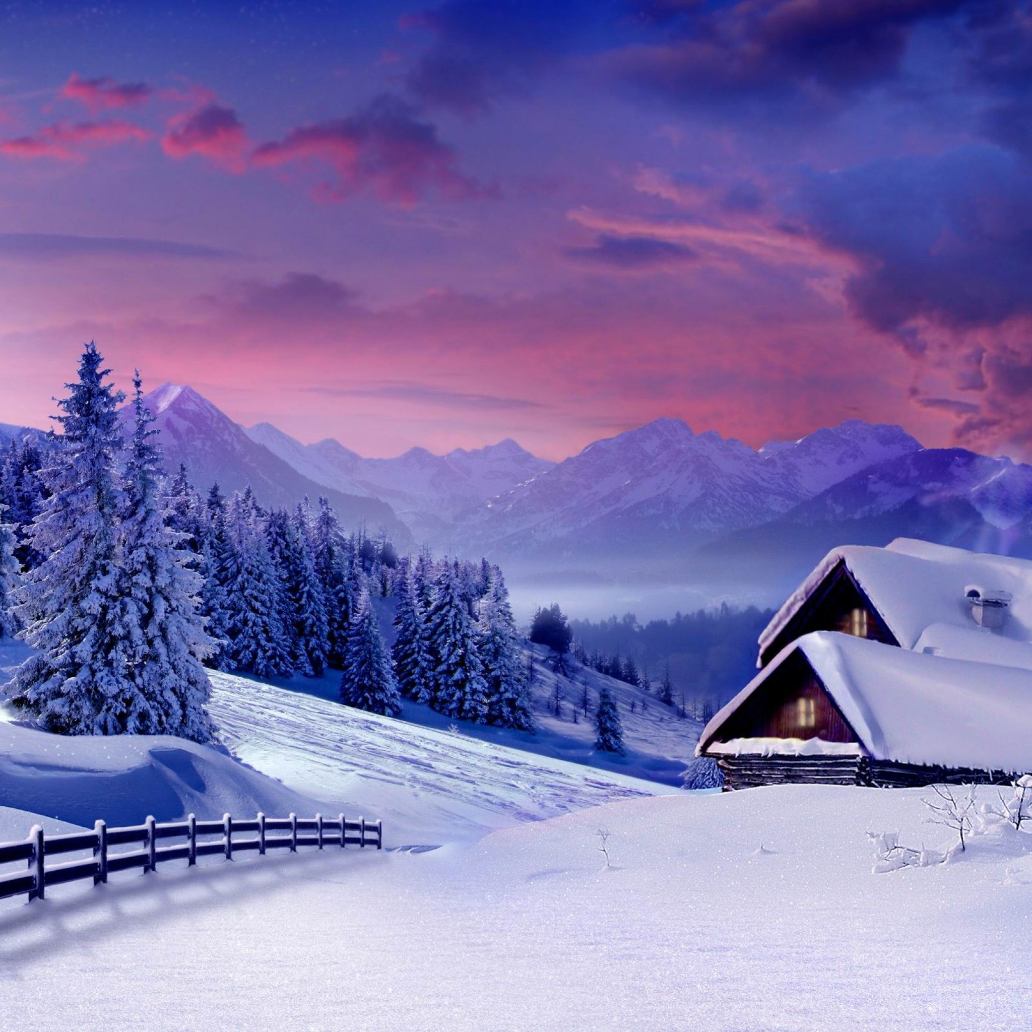 Mountain Loft Winter Ipad Wallpaper Hd Iphone Wallpaper Winter Winter Wallpaper Winter Iphone