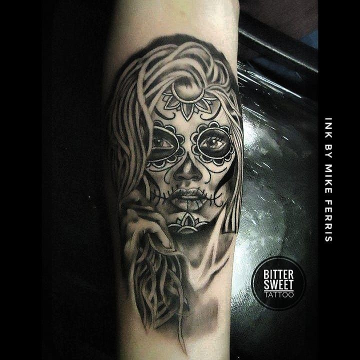 And another one from about 5 years ago always loved doing the day of the dead girls #dayofthedead #dayofthedeadtattoo #realismtattoo#rotarytattoomachine #tattoostudio #tattooart#tatt #inkstagram #inks#inkedgirl#instaink #belfasttattoo #belfast #tattooist#bngink #rotarytattoomachine#realism#sleevetattoo#armtattoo #rotarytattoomachine #northernireland #belfasttattooartist #instagram