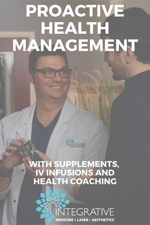 Proactive Health Management In 2020 Health Management Integrative Medicine Integrative