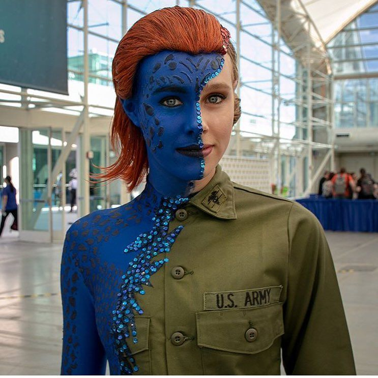 Pin By Smosh On Costumes Cosplay Xmen Cosplay Cosplay Mystique Marvel
