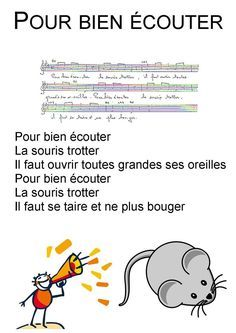 Recherche Une Chanson Pour Faire Silence Ecole Petite Section Comptine Ecole Comptines Chansons Comptines