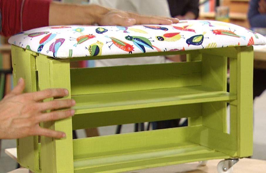 Reciclaje de cajones de verduras pallets cajones - Hacer menestra de verduras ...