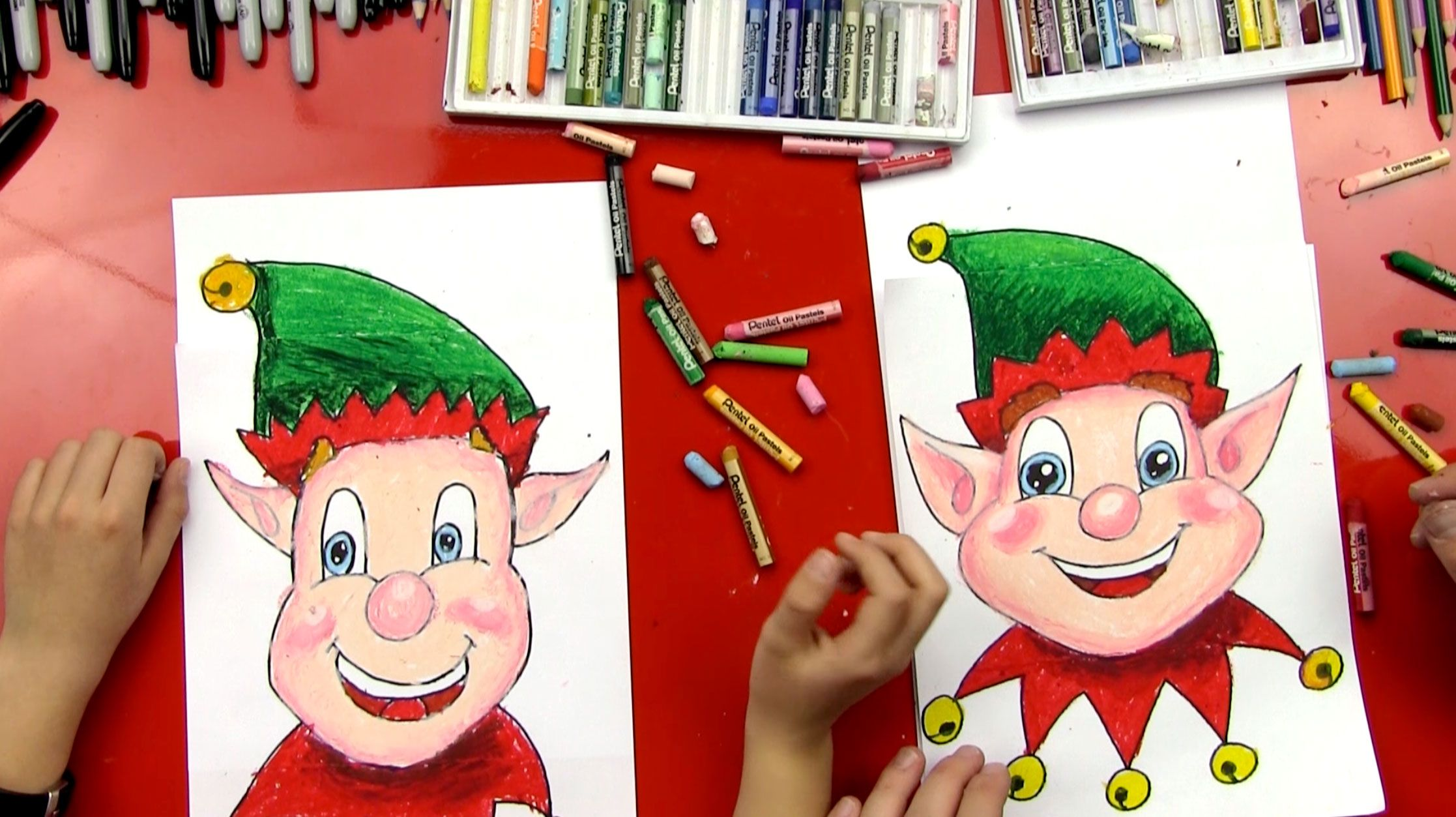 christmas is almost here learn how to draw a christmas elf face follow along and learn how to draw your own santas helper - How To Draw A Christmas Elf