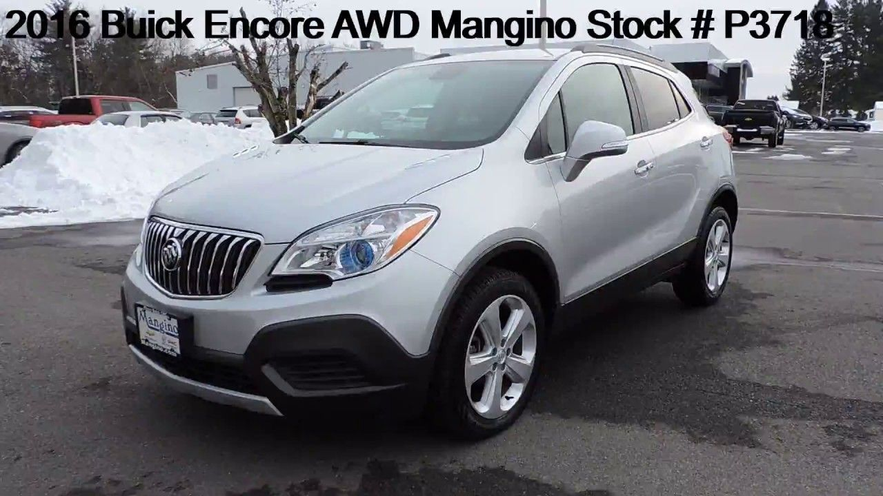 2016 Buick Encore AWD Mangino Stock P3718 in 2020