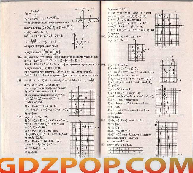 Решебник тетрадки т.с котик 8 класс