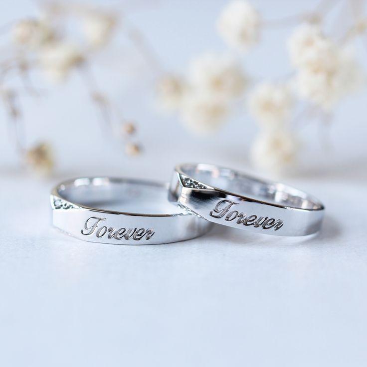 Customized couple ring set Couple ring engagement ring wedding band personalized wedding band Customized couple ring set Couple ring engagement ring wedding band personalized wedding band,