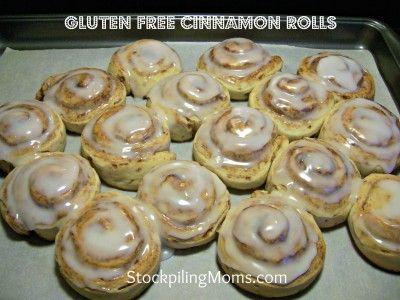 Gluten Free Cinnamon Rolls Recipe Gluten Free Cinnamon Rolls Gluten Free Sweets Gluten Free