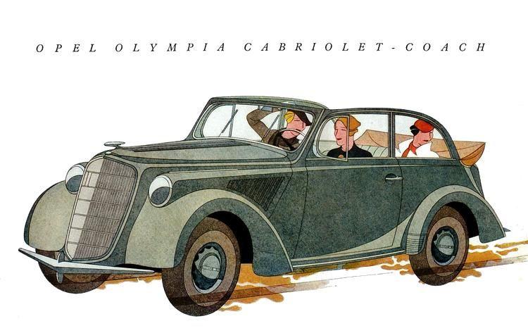 Opel Olympia, 1935