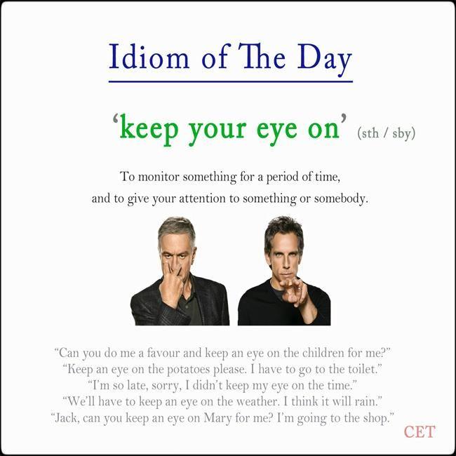 #idioms #ELT #voc | ENGLISH VOCABULARY | Pinterest ...
