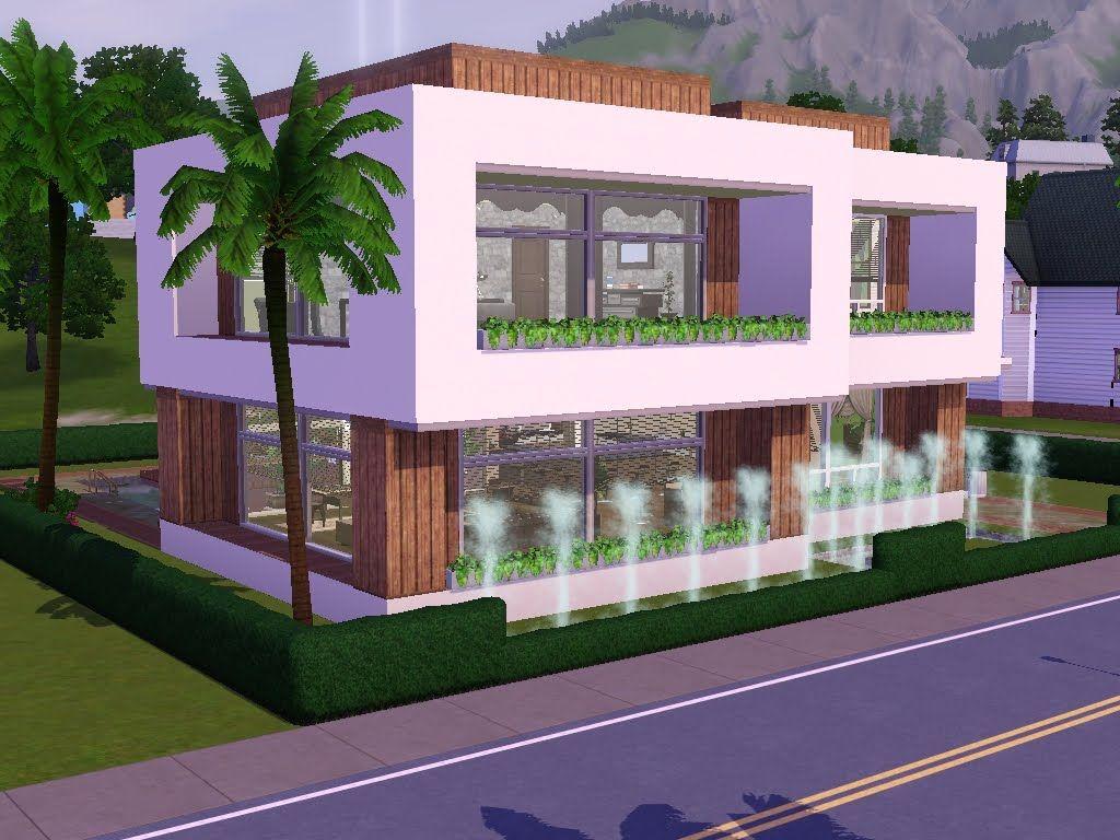 Die Sims 3 Moderne Häuser Bauen Minimalistisches Haus Design