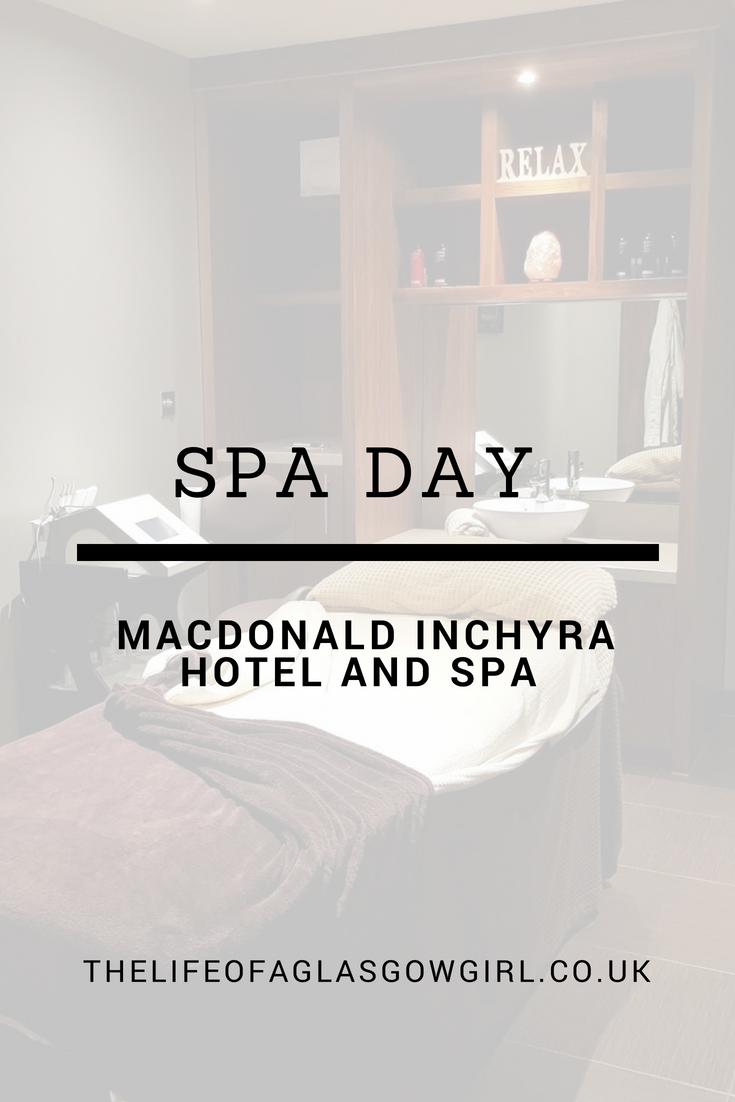Spa Day At Macdonald Inchyra Hotel and Spa* Spa day, Spa
