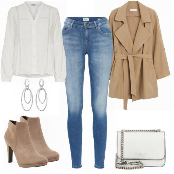 ABOUT YOU Ankle Boot Outfit - Freizeit Outfits bei ...