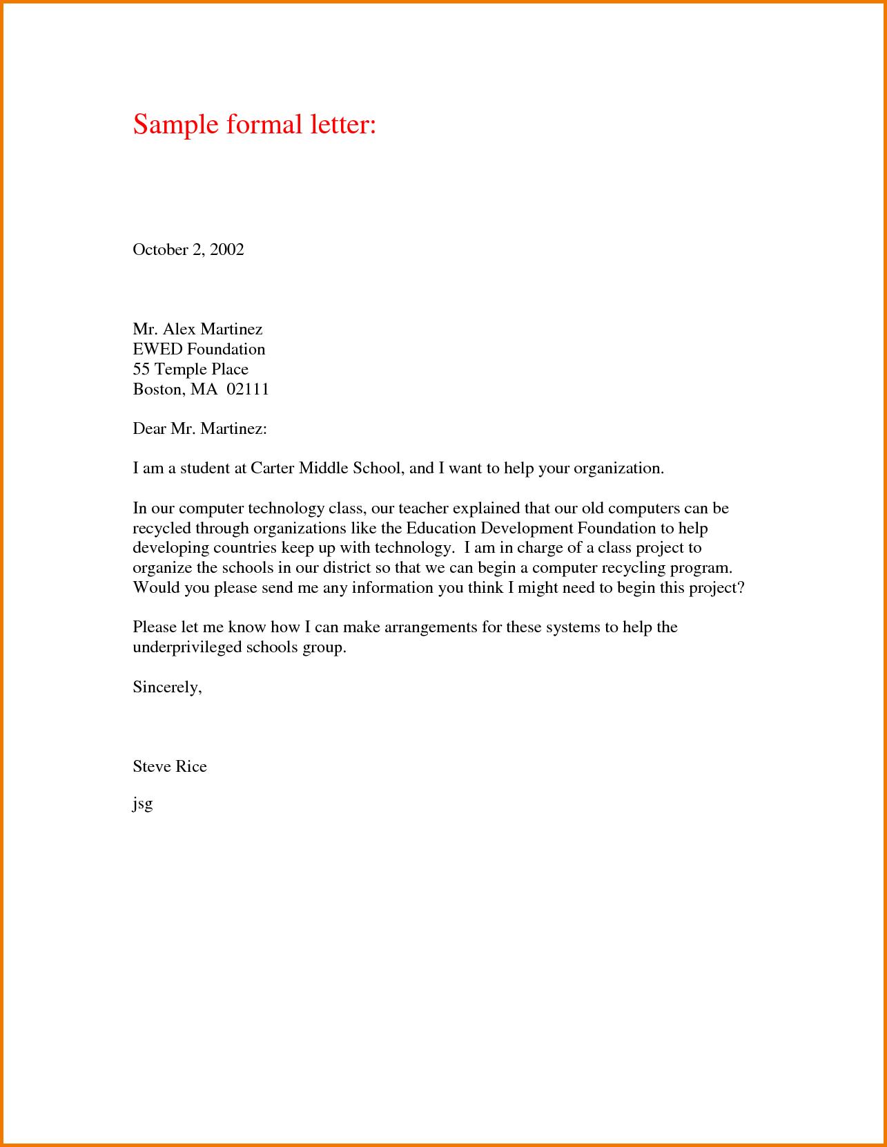 Thanking letter format sample formal business samples contract thanking letter format sample formal business samples contract template altavistaventures Images