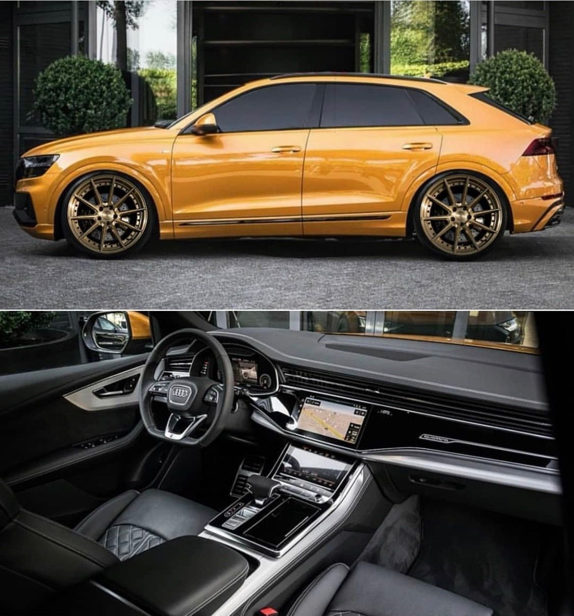 Audi Q8 Golden Audi Toyota Carina Audi Suv
